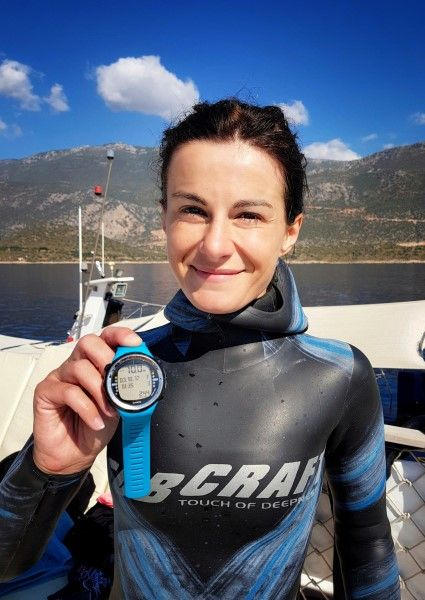 European freediving championship lidija liji takes gold huge success by croatian team total - Dive recorder results ...