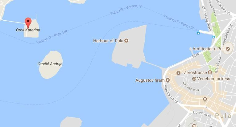 Construction Of New Marina In Pula Obstructed By Sunk Ship Total