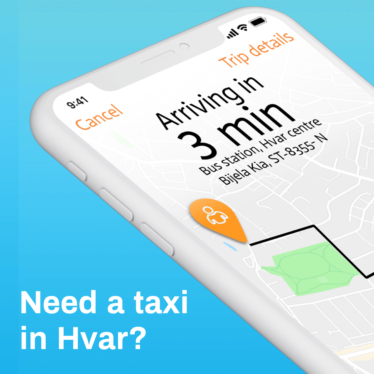 PickApp Hvar, a New Uber Style Taxi Option with Great Prices