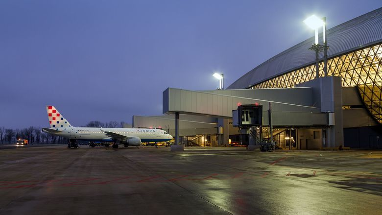 Final Testing Of New Zagreb Airport Terminal Begins
