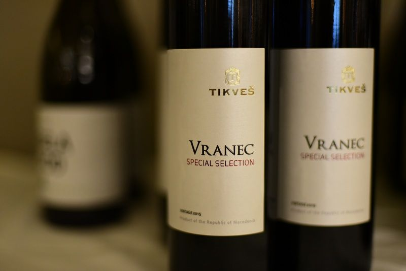 Tikveš Vranec Selection