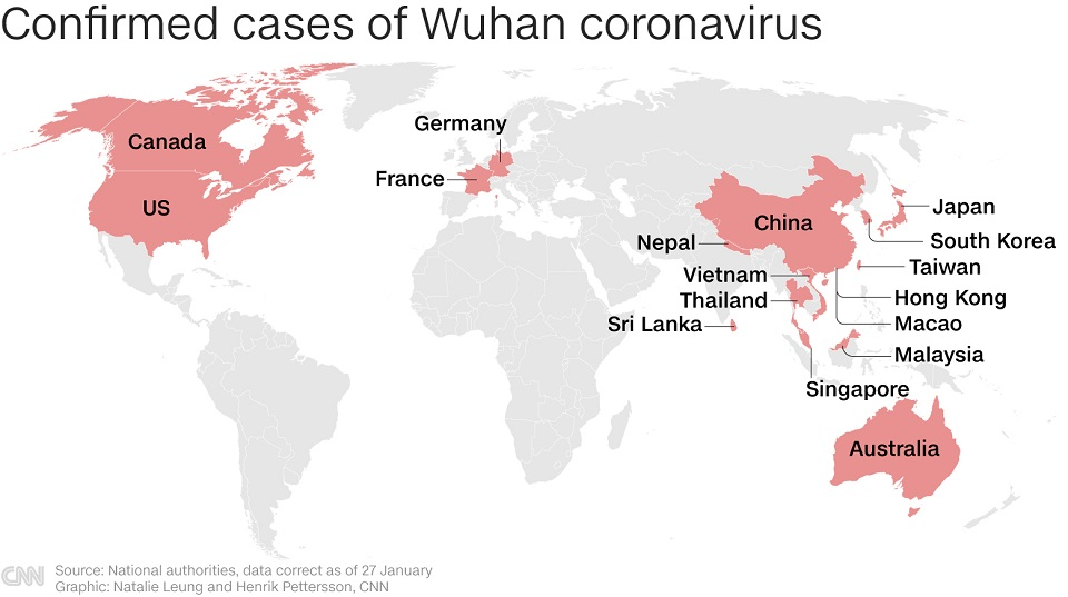 update on the coronavirus in china