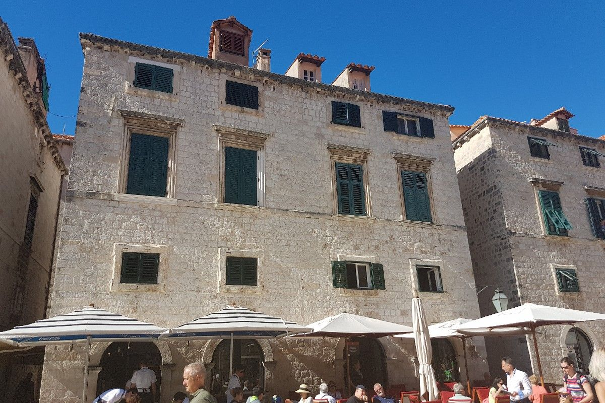 Looking For A House On Croatia 39 S Most Exclusive Street Stradun In Dubrovnik