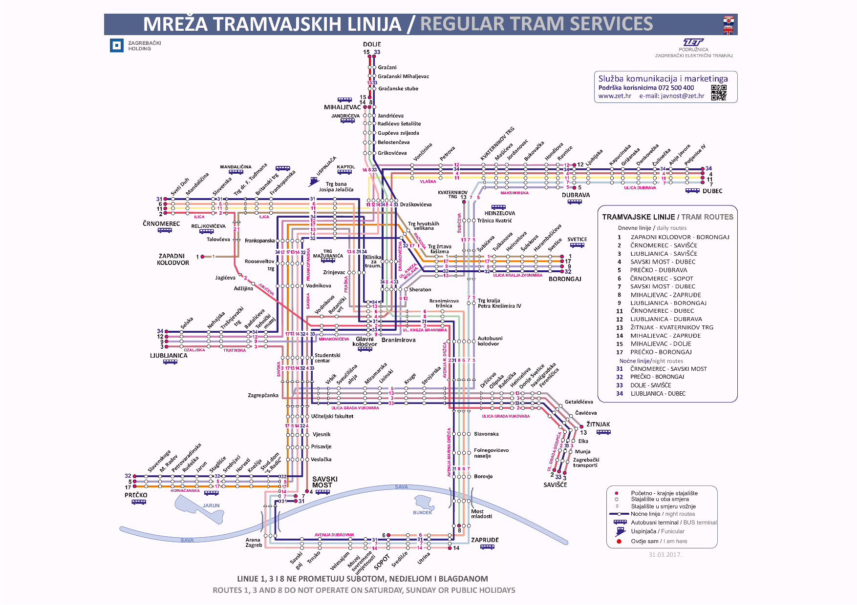 Zet News Longer Routes For Trams 5 And 7