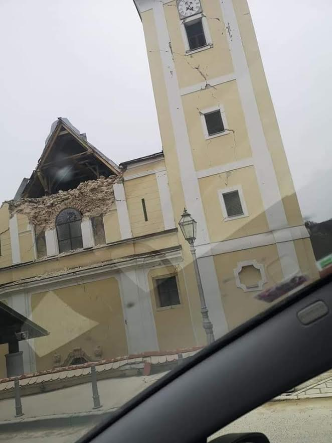 Zagreb Earthquake Epicenter In Kasina In Pictures