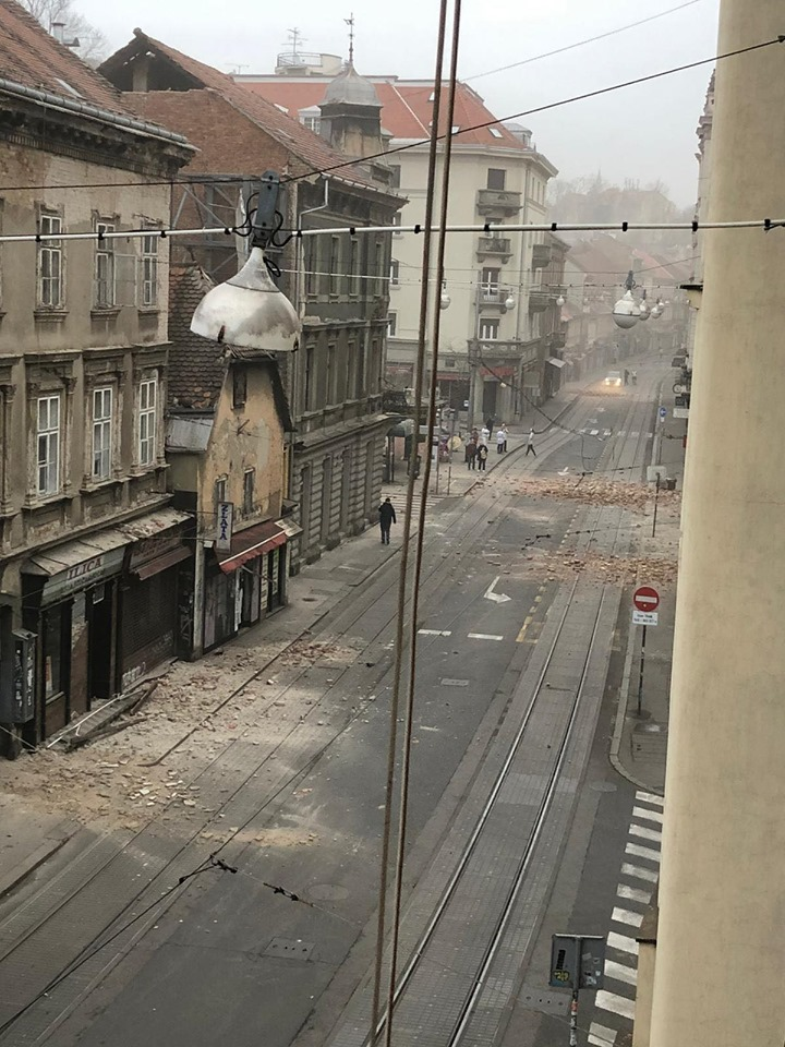 Croatia Covid 19 Zagreb Earthquake Health Stats Emergency Update March 22 2020