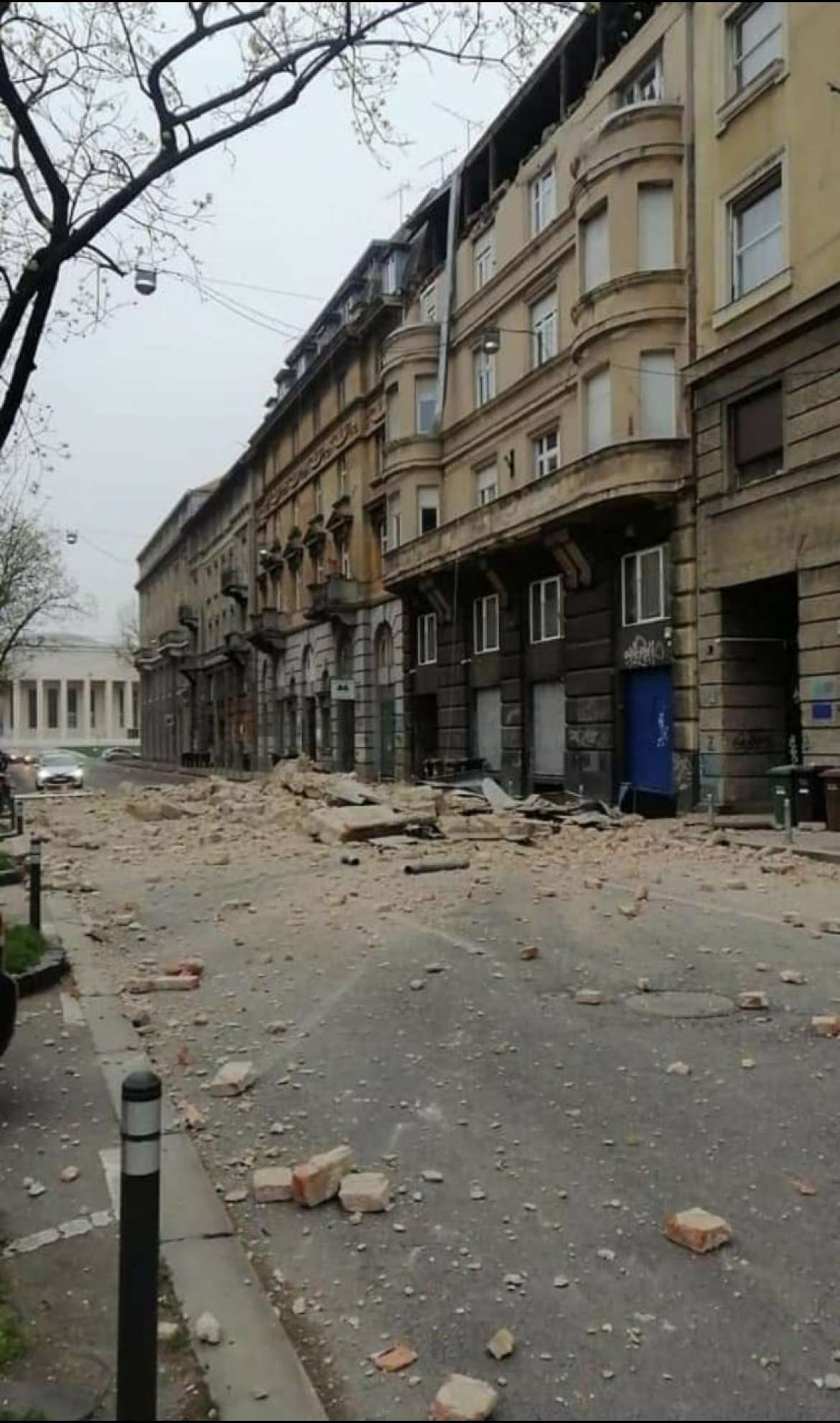 Smaller Earthquake Rattles Zagreb Again
