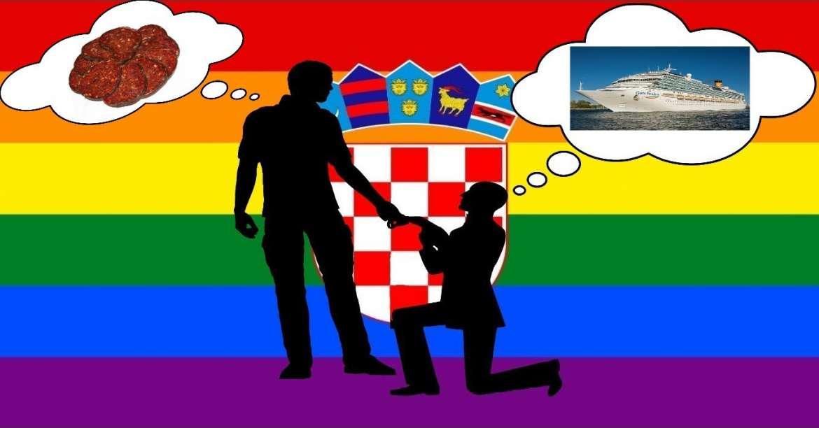 First Gay Marriage Held in Kutjevo, Heart of Slavonia
